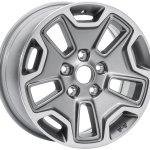 Mopar 1xa50ld6aa Rubicon Wheel In Mineral Gray For 07 18 Jeep Wrangler Jk And 99 18 Grand Cherokee Wj Wk Wk2 Quadratec