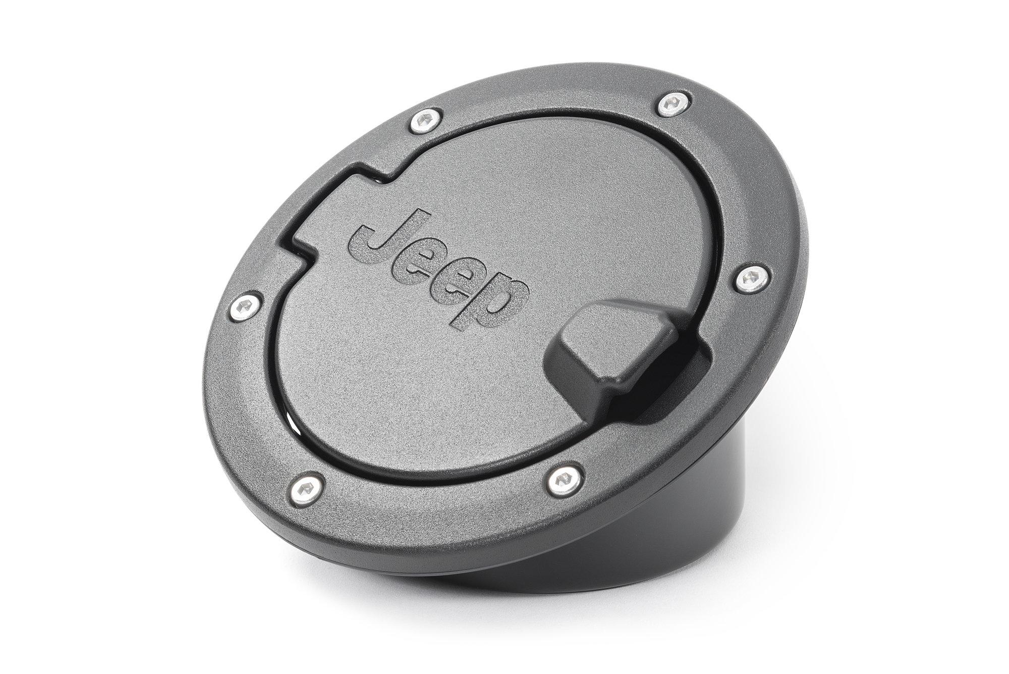 Mopar 82214793 Fuel Filler Door In Black For 07 18 Jeep