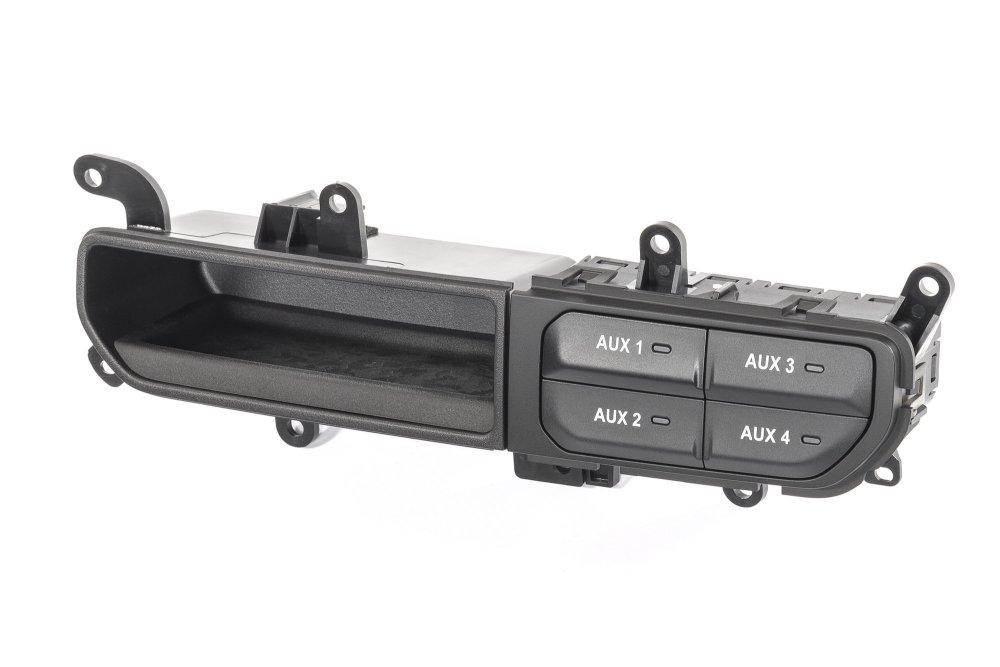 medium resolution of mopar 82215190 auxiliary switch bank for 18 19 jeep wrangler jl quadratec