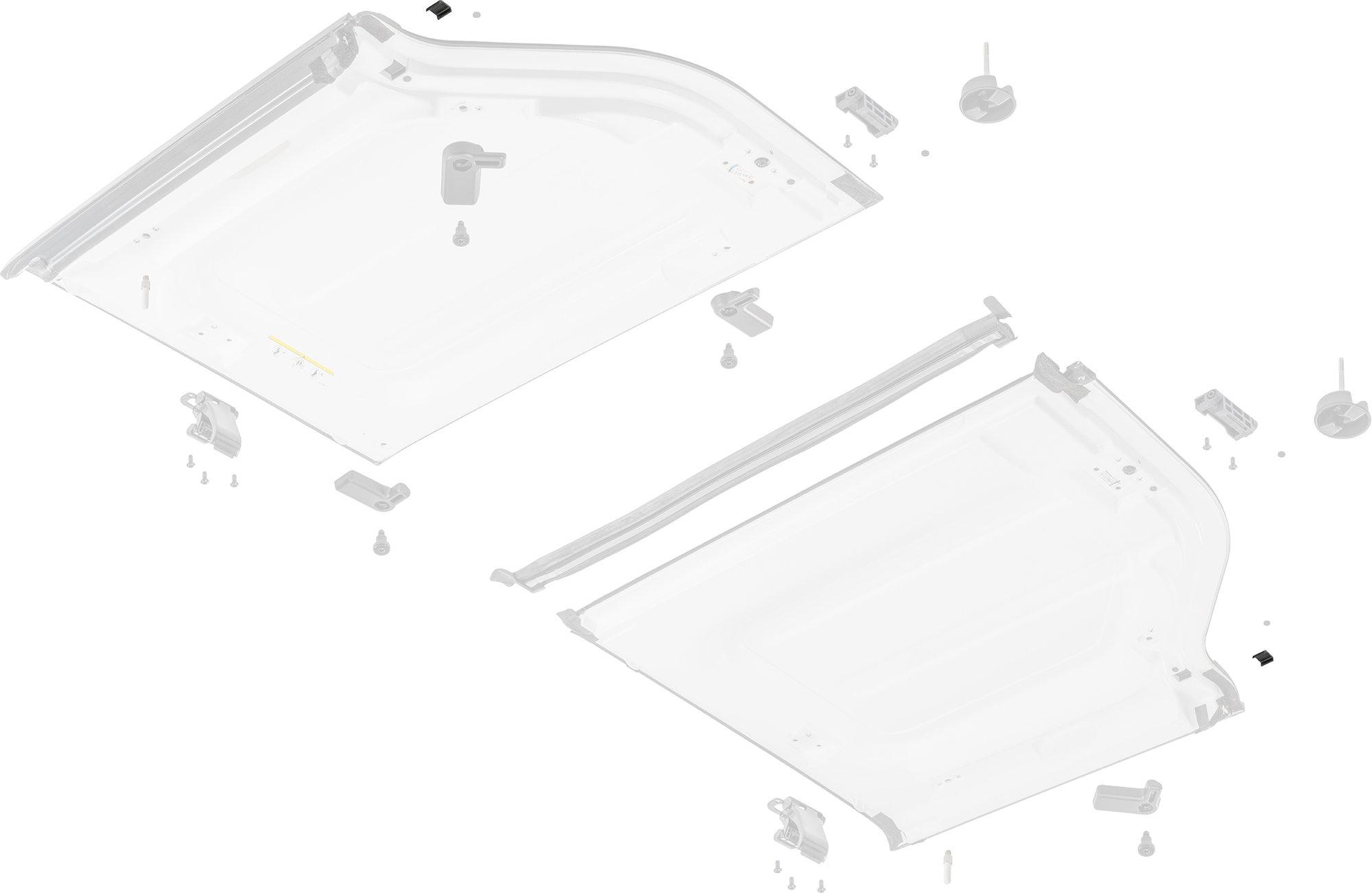 Mopar 68004991AC Hardtop Freedom Panel Isolator for 07-18