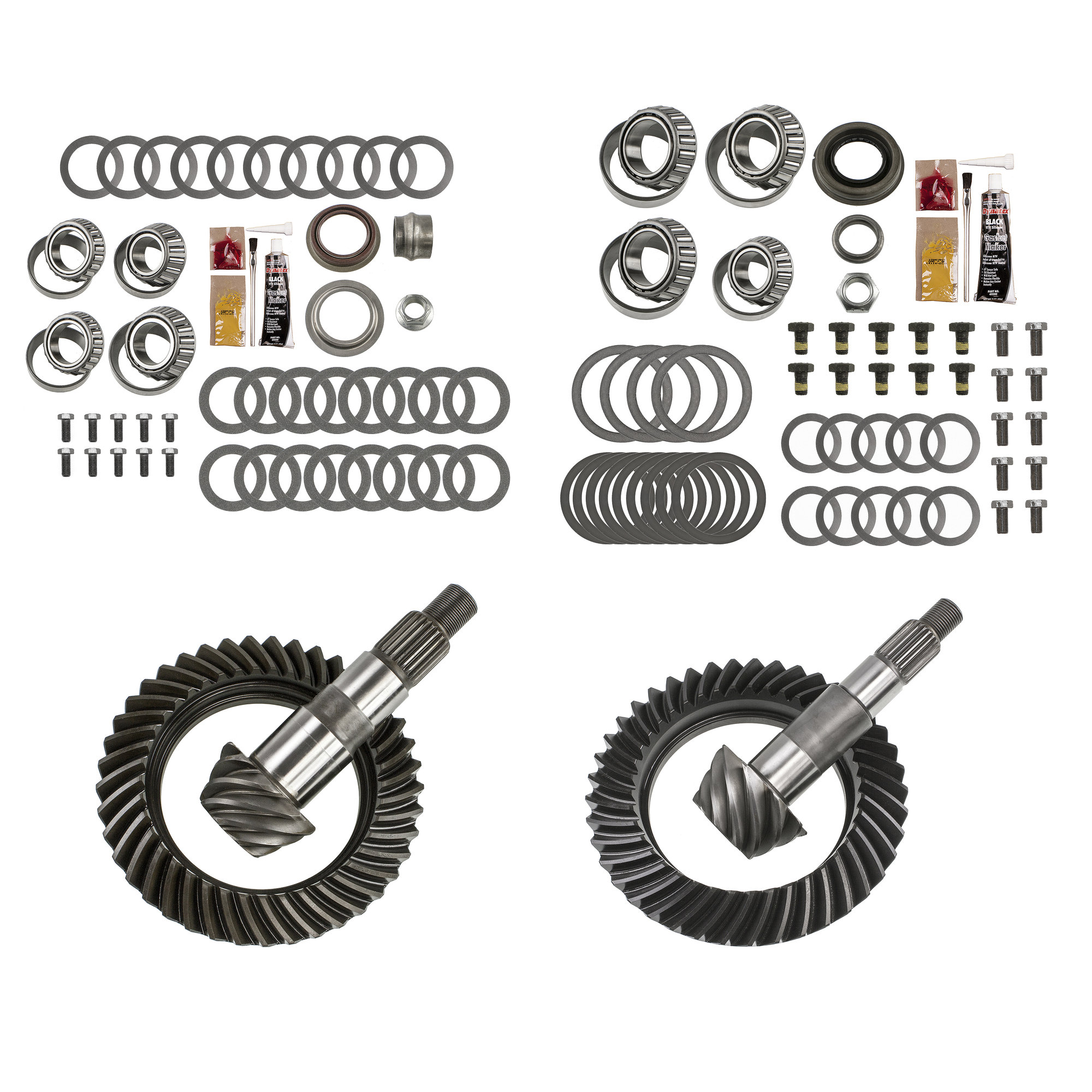 Motive Gear Front and Rear Ring and Pinion with Master