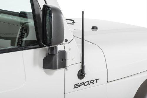 small resolution of rugged ridge stubby reflex antenna for 97 19 jeep wrangler tj jk jl and 2020 gladiator jt quadratec
