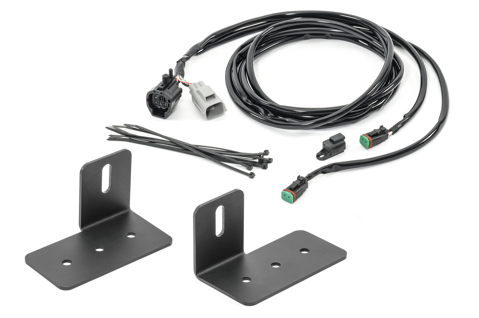hight resolution of quadratec back up light mounts for 07 18 jeep wrangler jk previous next