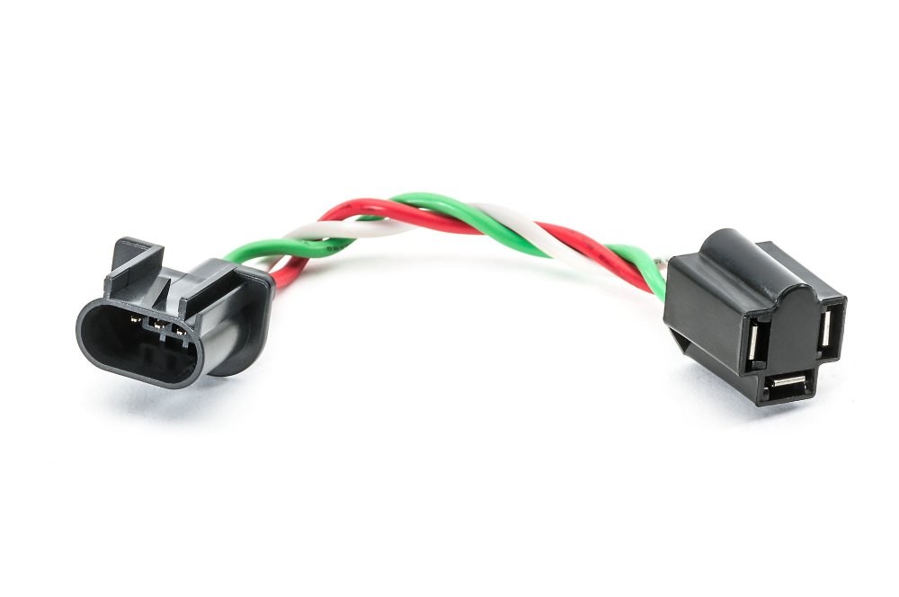 medium resolution of quadratec h4 to h13 adapter pigtail wiring harness for