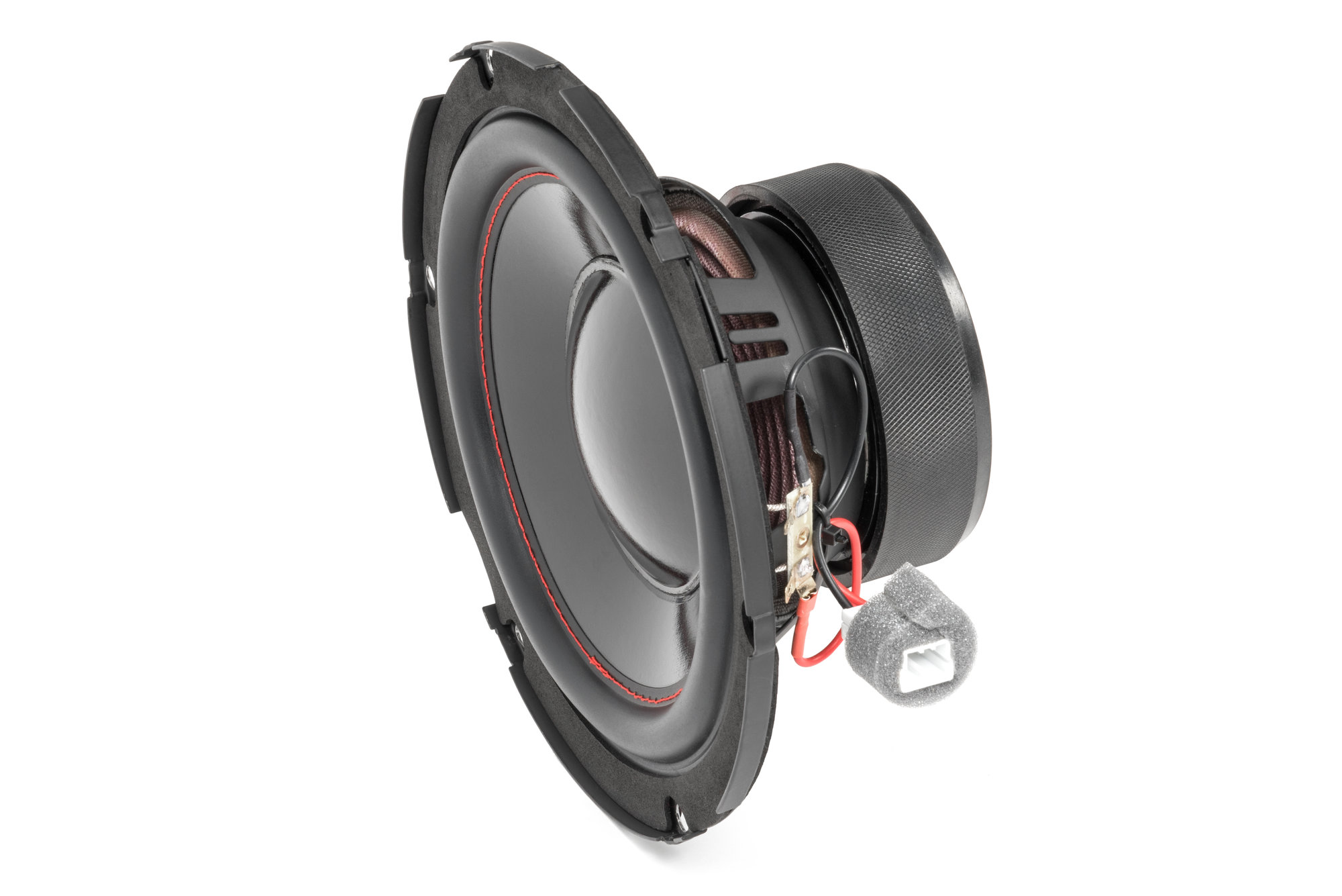 hight resolution of quadratec 8 factory subwoofer replacement for 07 14 jeep wrangler jk quadratec