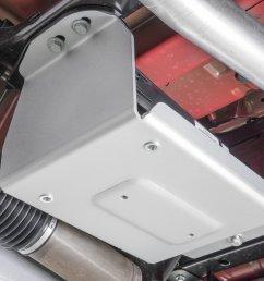 quadratec 12500 0210 aluminum modular evap canister skid plate for 07 18 jeep wrangler jk quadratec [ 2000 x 1335 Pixel ]
