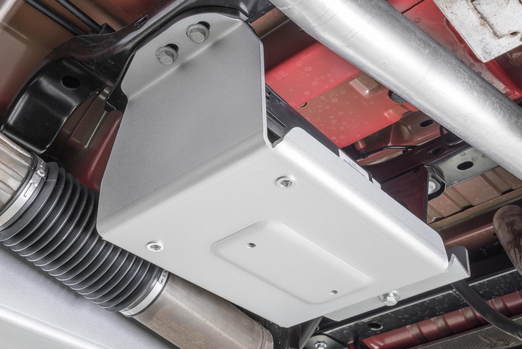 hight resolution of quadratec 12500 0210 aluminum modular evap canister skid plate for 07 18 jeep wrangler jk quadratec