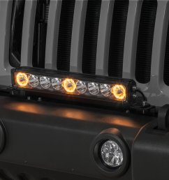 quadratec j3 led 17 light bar with grille mount brackets and wiring for 07 18 jeep wrangler jk quadratec [ 2000 x 1335 Pixel ]