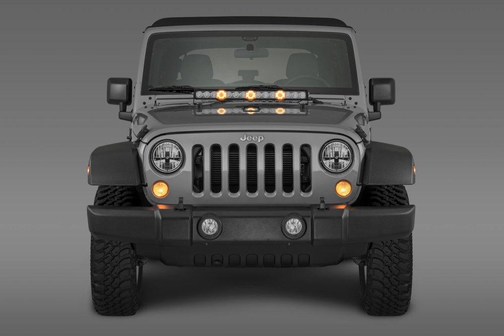 medium resolution of led light bar wiring harnes install