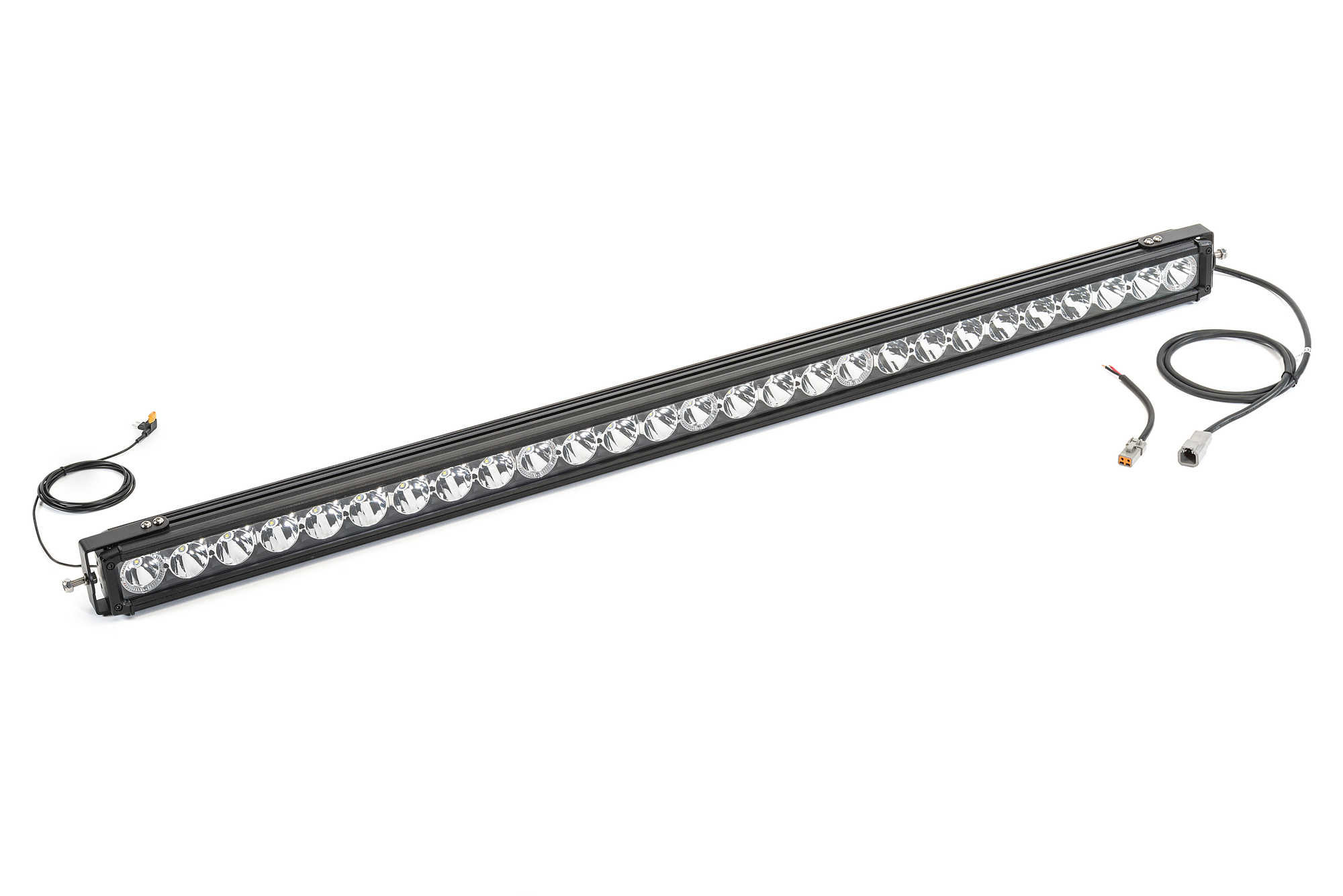 Quadratec J5 LED Light Bar Kit with 6 Bolt Style