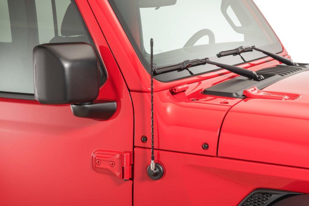 medium resolution of quadratec 16 hi performance am fm stubby antenna for 07 19 jeep wrangler jk jl quadratec