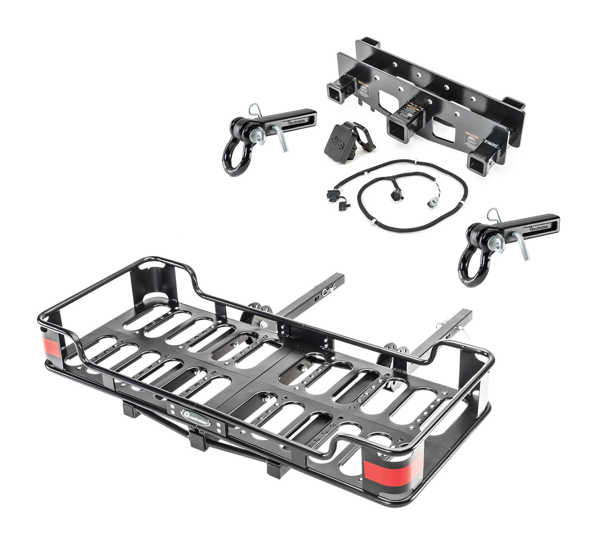 VersaHitch Receiver, Wiring Kit, Jeep Logo Plug, Cargo