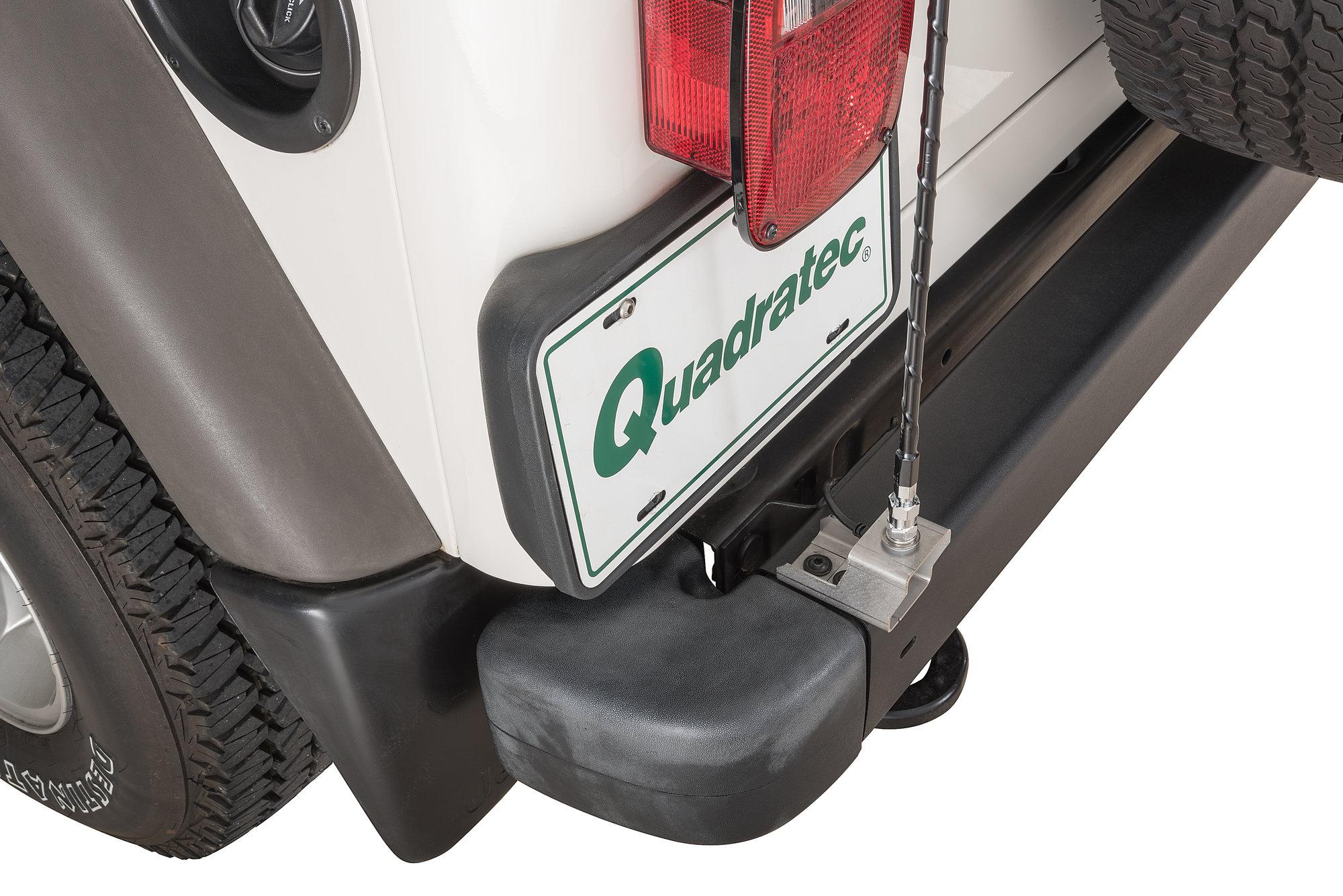 hight resolution of quadratec cb antenna mount kit for 97 06 jeep wrangler tj unlimited quadratec