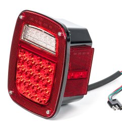 quadratec led tail light kit for 81 86 jeep cj 5 cj 7 cj 8 scrambler quadratec [ 2000 x 1329 Pixel ]