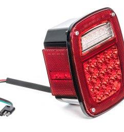 quadratec led tail light kit for 81 86 jeep cj 5 cj 7 cj 8 scrambler quadratec [ 2000 x 1329 Pixel ]