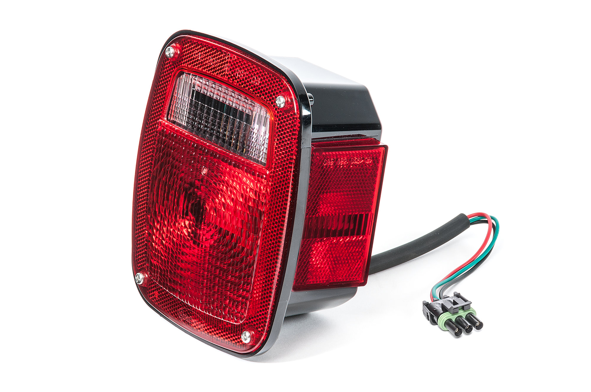 hight resolution of quadratec passenger side tail light for 87 90 jeep wrangler yj quadratec