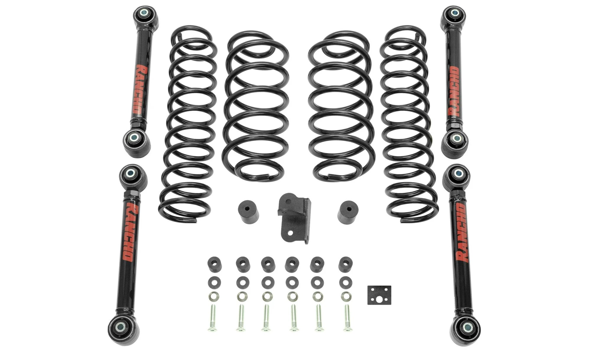 Rancho RS6503B 2.5 Inch Sport Lift Kit for 97-06 Jeep