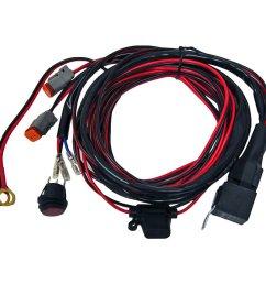 rigid industries 40196 rigid high power wiring harness for d series sr q [ 1100 x 1100 Pixel ]