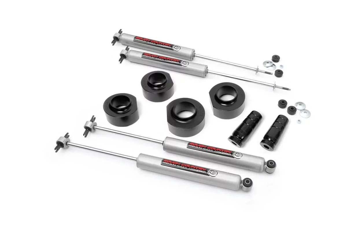 Rough Country 68530 1.5in Spacer Lift Kit for 93-98 Jeep