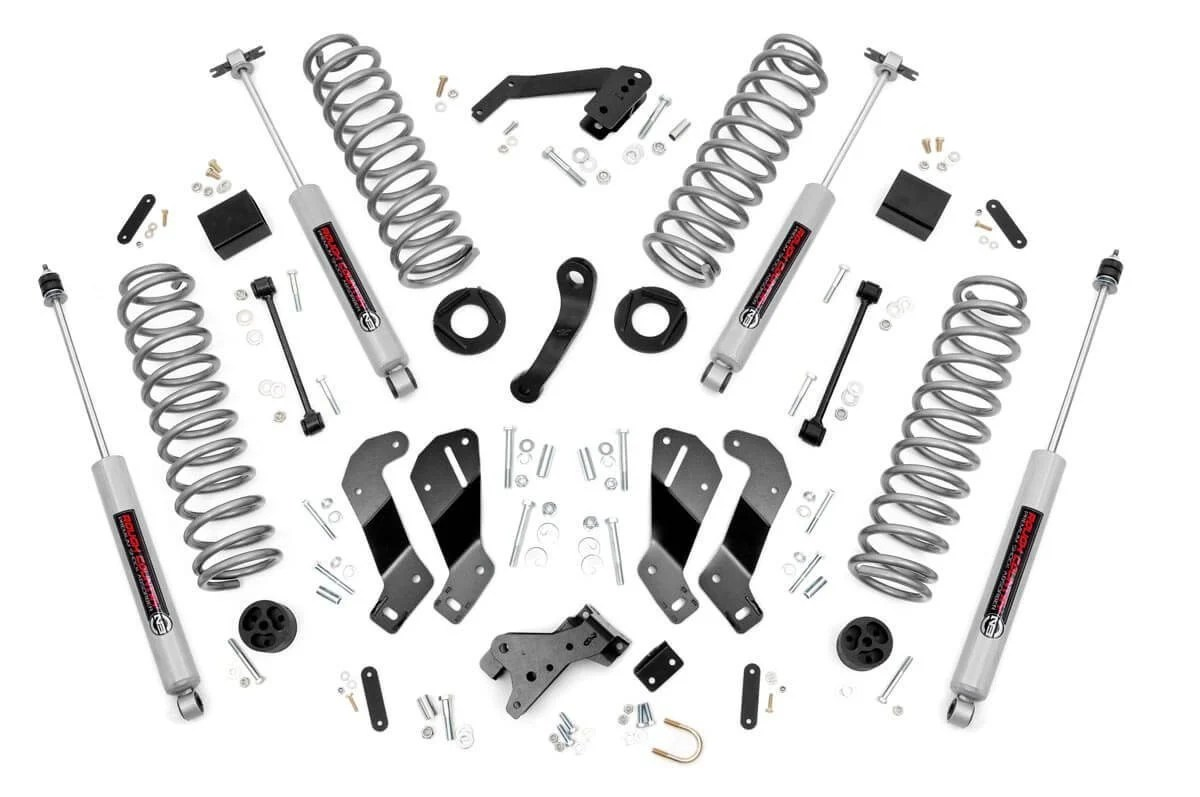 Rough Country 3 5in Suspension Lift Kit With Control Arm