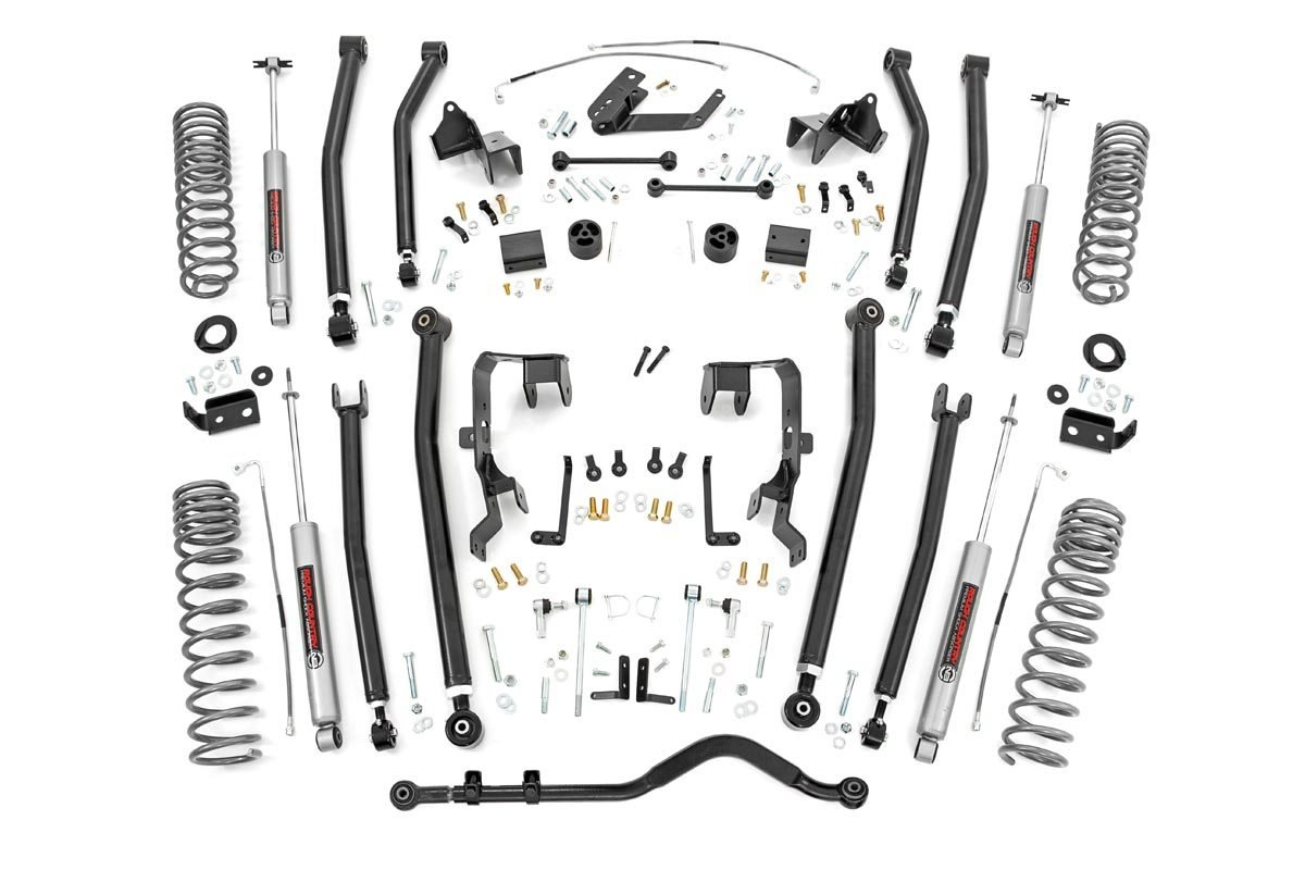 Rough Country 4in Long Arm Suspension Lift Kit for 07-18