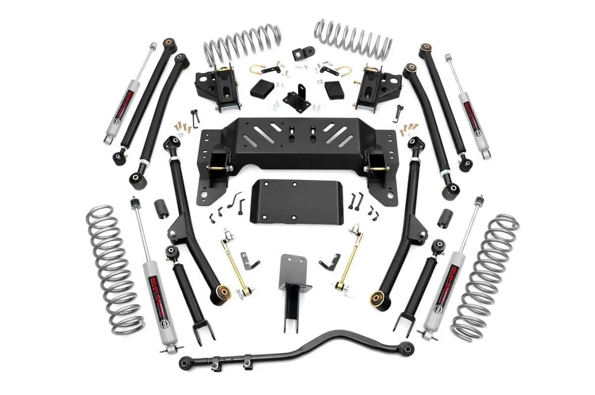 Rough Country 90222 4in Long Arm Suspension Lift Kit for