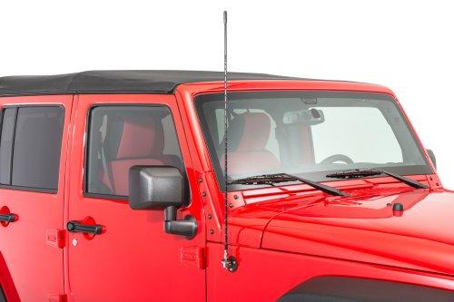 small resolution of rugged ridge 17212 20 cb am fm antenna mount kit for 07 18 jeep wrangler jk quadratec