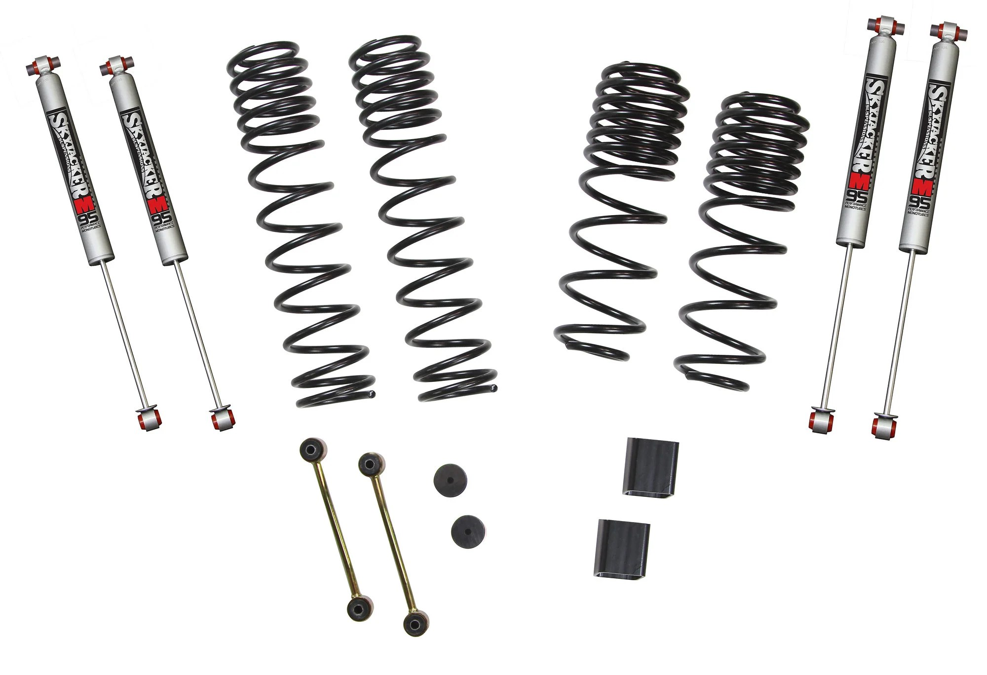 Skyjacker 1-1.5in Dual Rate Coil Suspension System with