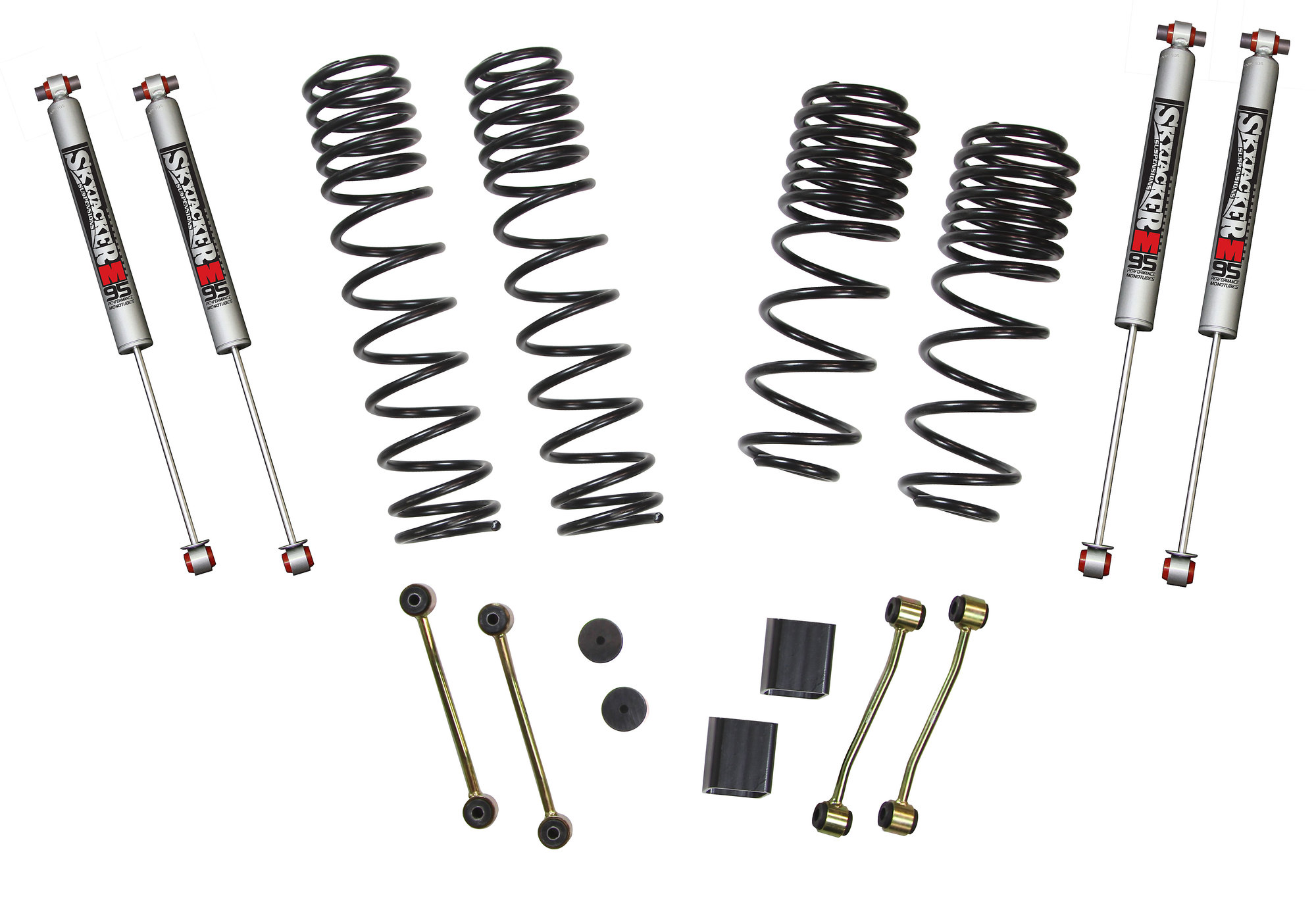 Skyjacker 2 2 5in Dual Rate Coil Suspension System With