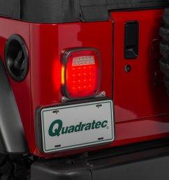savvy off road sav tla billet aluminum led tail lights for 87 06 jeep wrangler yj tj quadratec [ 2000 x 1335 Pixel ]