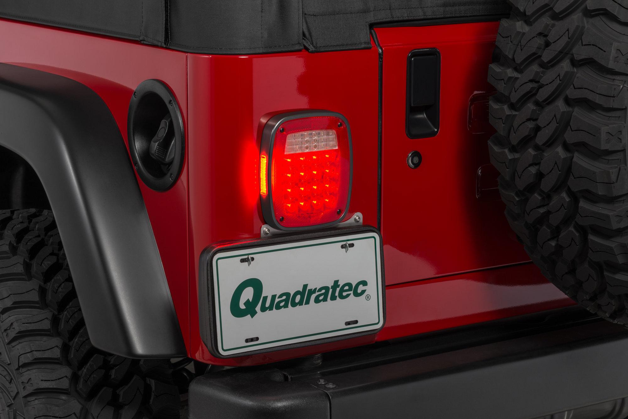 hight resolution of savvy off road sav tla billet aluminum led tail lights for 87 06 jeep wrangler yj tj quadratec