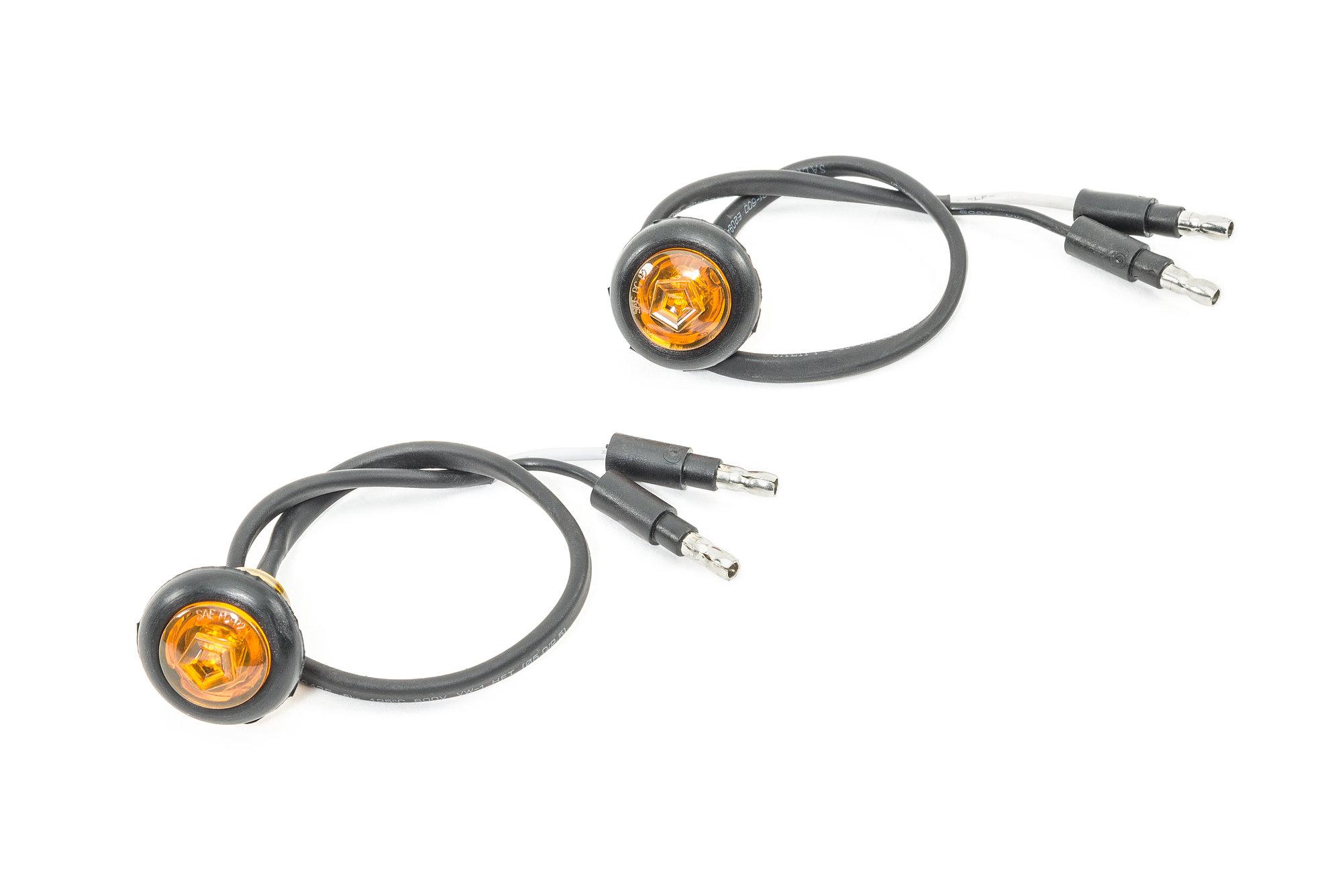Smittybilt L-1420 LED Side Marker Lights for 07-18 Jeep
