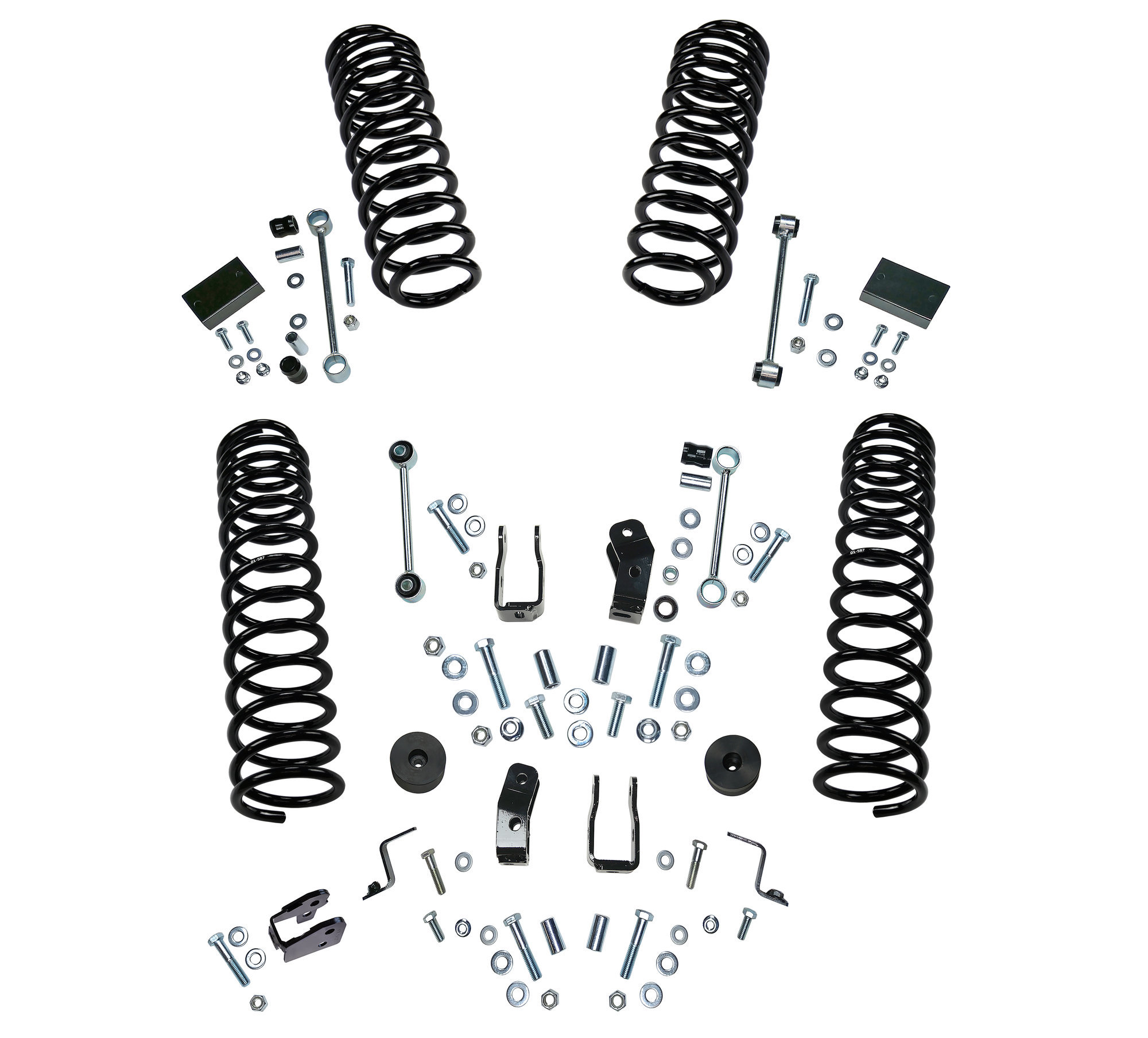 Superlift 2.5in Dual Rate Coil Lift Kit for 18-20 Jeep