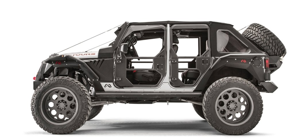 medium resolution of fab fours rear full tube doors for 07 18 jeep wrangler unlimited jk 4 door quadratec