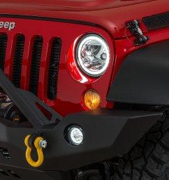 previous next vision x vortex halo led headlight pair for 07 18 jeep wrangler jk [ 2000 x 1335 Pixel ]