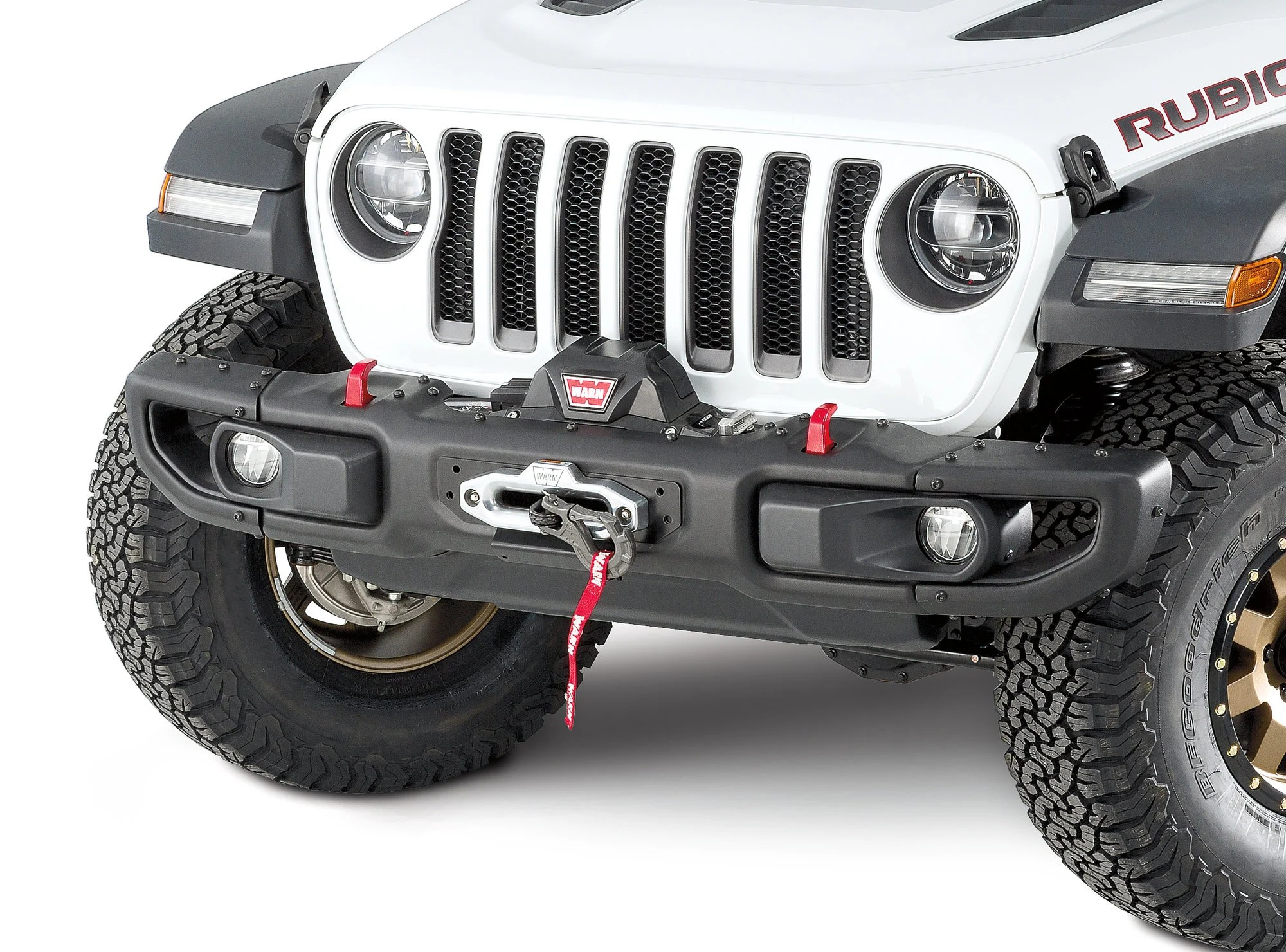 hight resolution of warn 101255 winch mount plate for 18 19 jeep wrangler jl with factory steel bumper quadratec