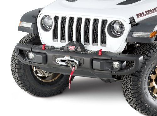 small resolution of warn 101255 winch mount plate for 18 19 jeep wrangler jl with factory steel bumper quadratec
