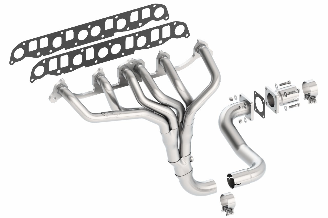 Borla 17081 T-304 Stainless Steel Header for 1997 Jeep