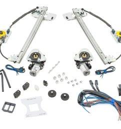 electric life je13 1099 direct fit power window kit for 07 18 jeep wrangler jk 2 door quadratec [ 2000 x 1335 Pixel ]