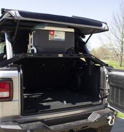 fishbone offroad fb25113 interior storage rack for 18 19 jeep wrangler jl quadratec [ 2000 x 1333 Pixel ]