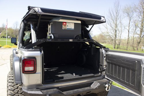 small resolution of fishbone offroad fb25113 interior storage rack for 18 19 jeep wrangler jl quadratec