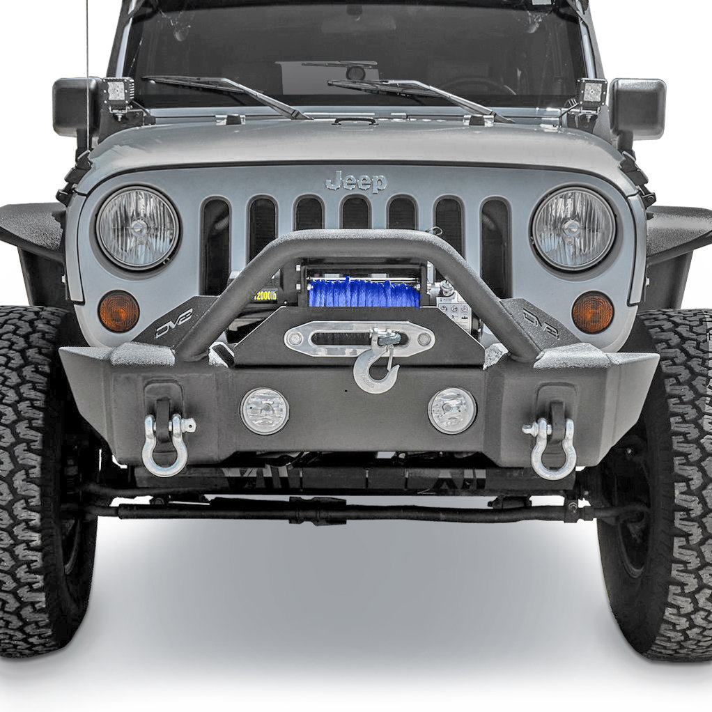 hight resolution of dv8 offroad fbshtb 13 fs 13 hammer forged front stubby bumper for 07 19 jeep wrangler jk and jl 2020 gladiator jt quadratec