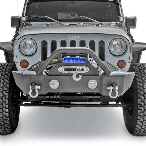 small resolution of dv8 offroad fbshtb 13 fs 13 hammer forged front stubby bumper for 07 19 jeep wrangler jk and jl 2020 gladiator jt quadratec