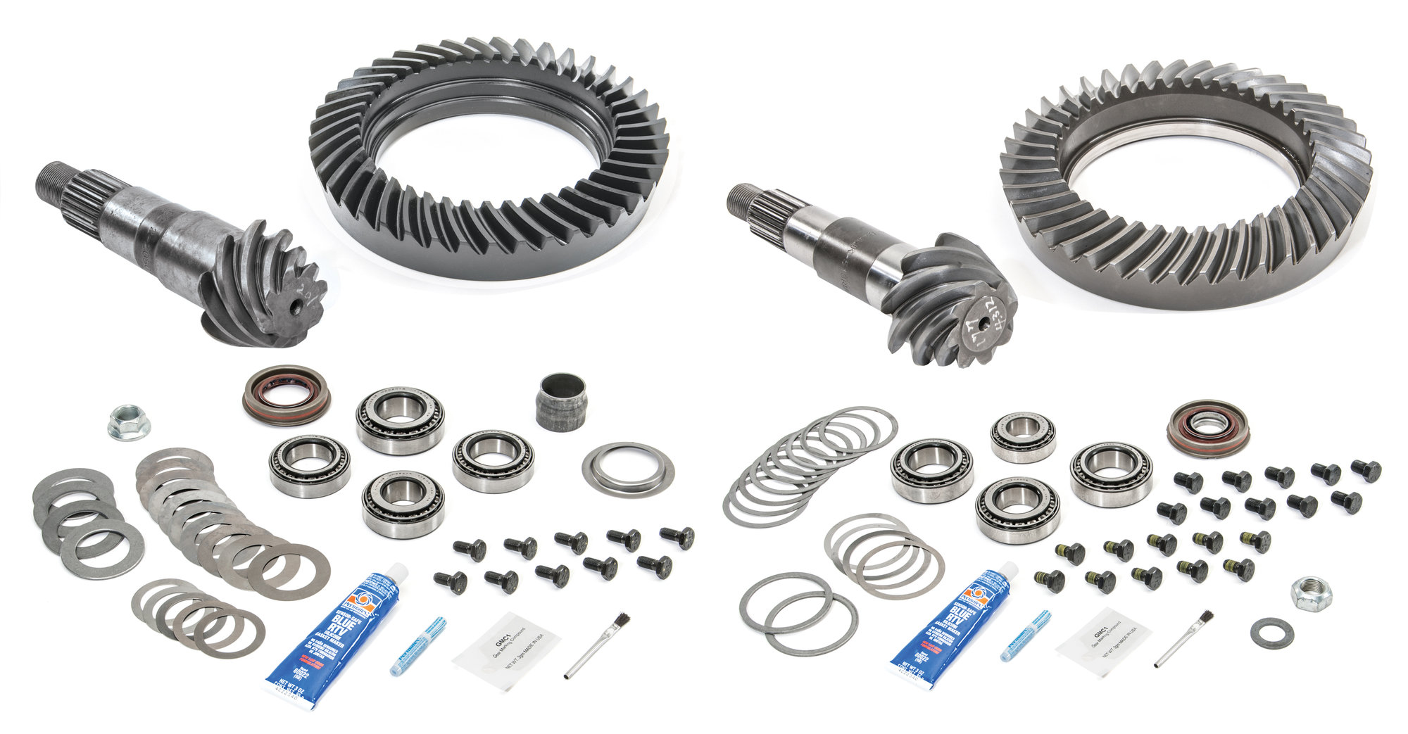 G2 Axle Amp Gear Front And Rear Ring And Pinion With Master Install Kits For 96 99 Jeep Cherokee