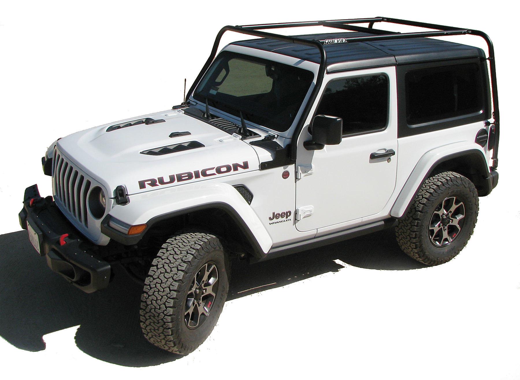 garvin 20092 adventure rack for 18 21 jeep wrangler jl 2 door