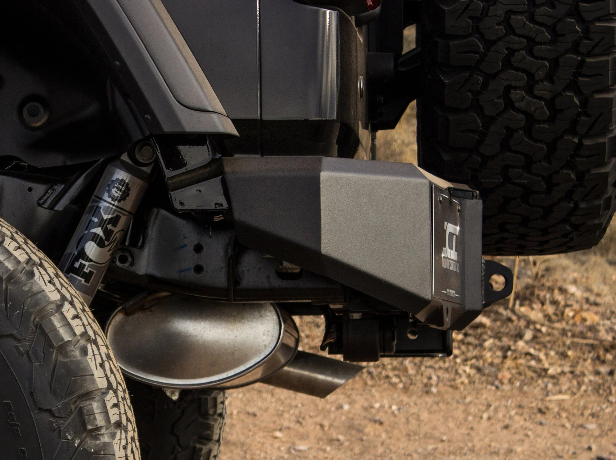 hight resolution of innovative creations inc magnum rear bumper for 18 19 jeep wrangler jl quadratec