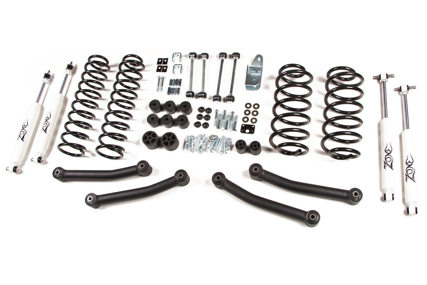 Zone Offroad Products 4 Lift Kit For 97 06 Jeep Wrangler
