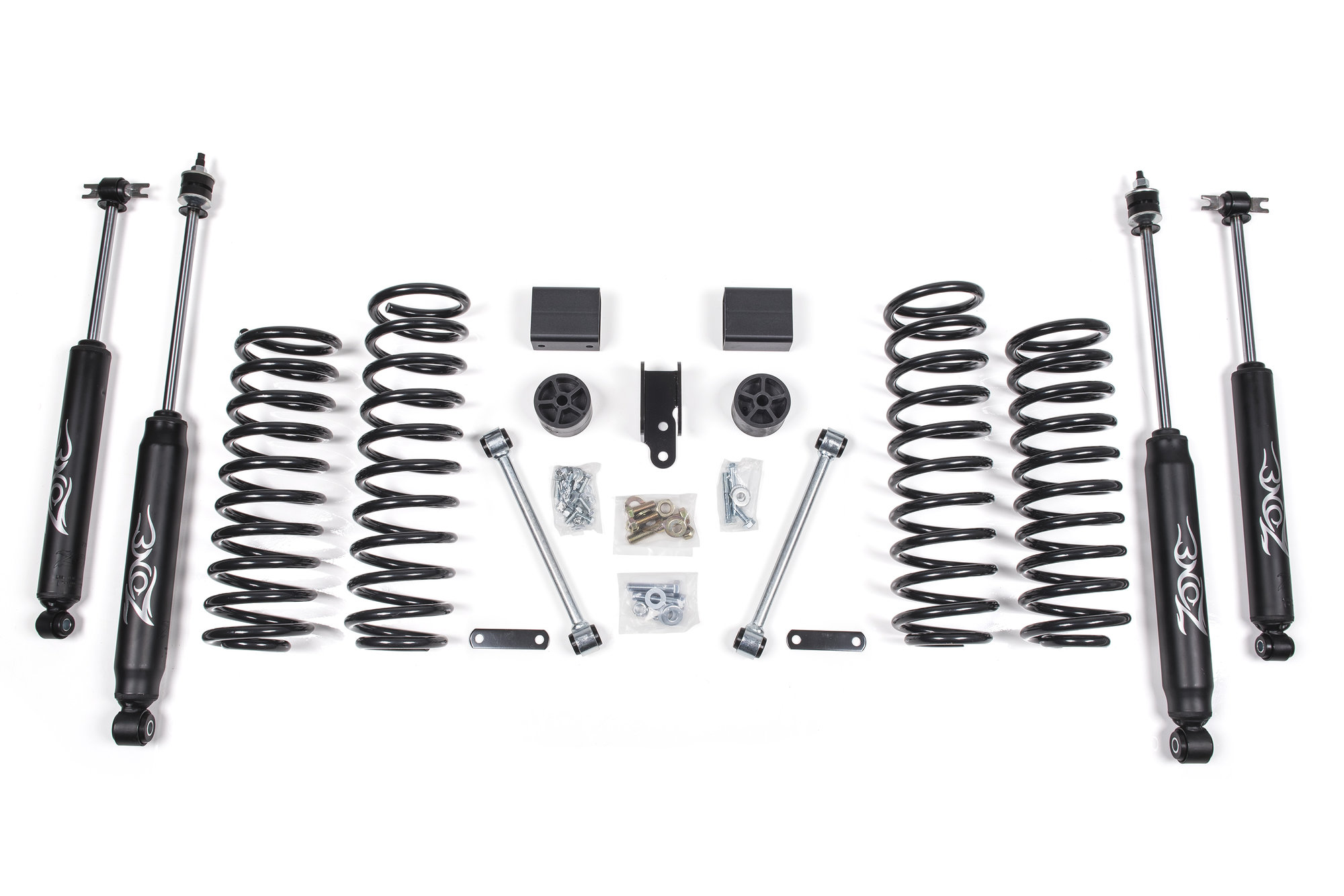 Zone Offroad Products 3 Lift Kit For 07 18 Jeep Wrangler Jk