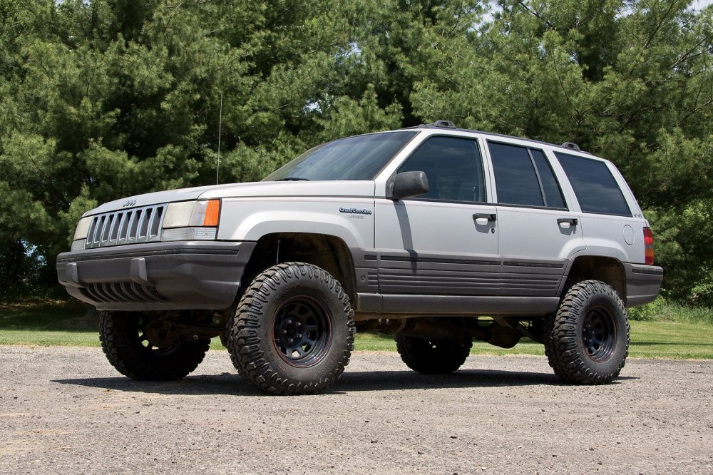 medium resolution of zone offroad products 4 suspension system for 93 98 jeep grand cherokee zj quadratec