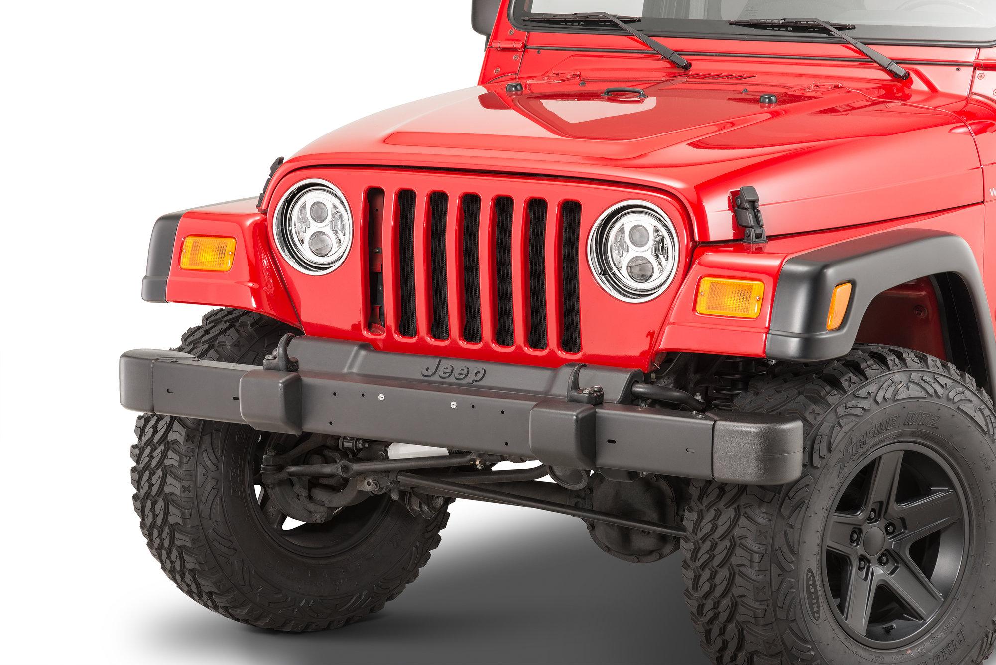 hight resolution of j w speaker 8700 evolution 2 led headlight kit for 45 06 jeep wrangler tj tj unlimited cj quadratec